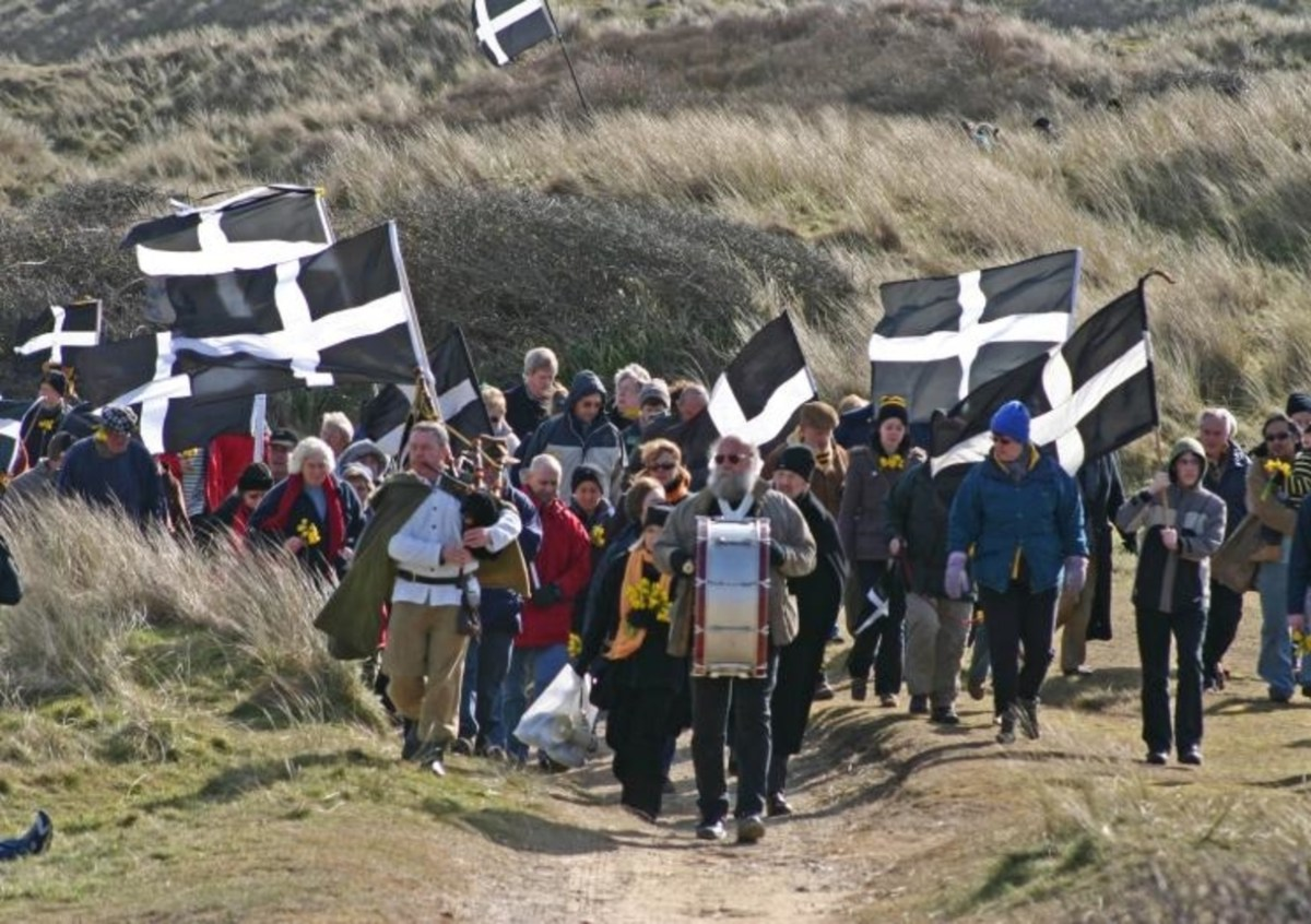 St. Pirantide - Full Guide to St Piran's Day Event's Across the World