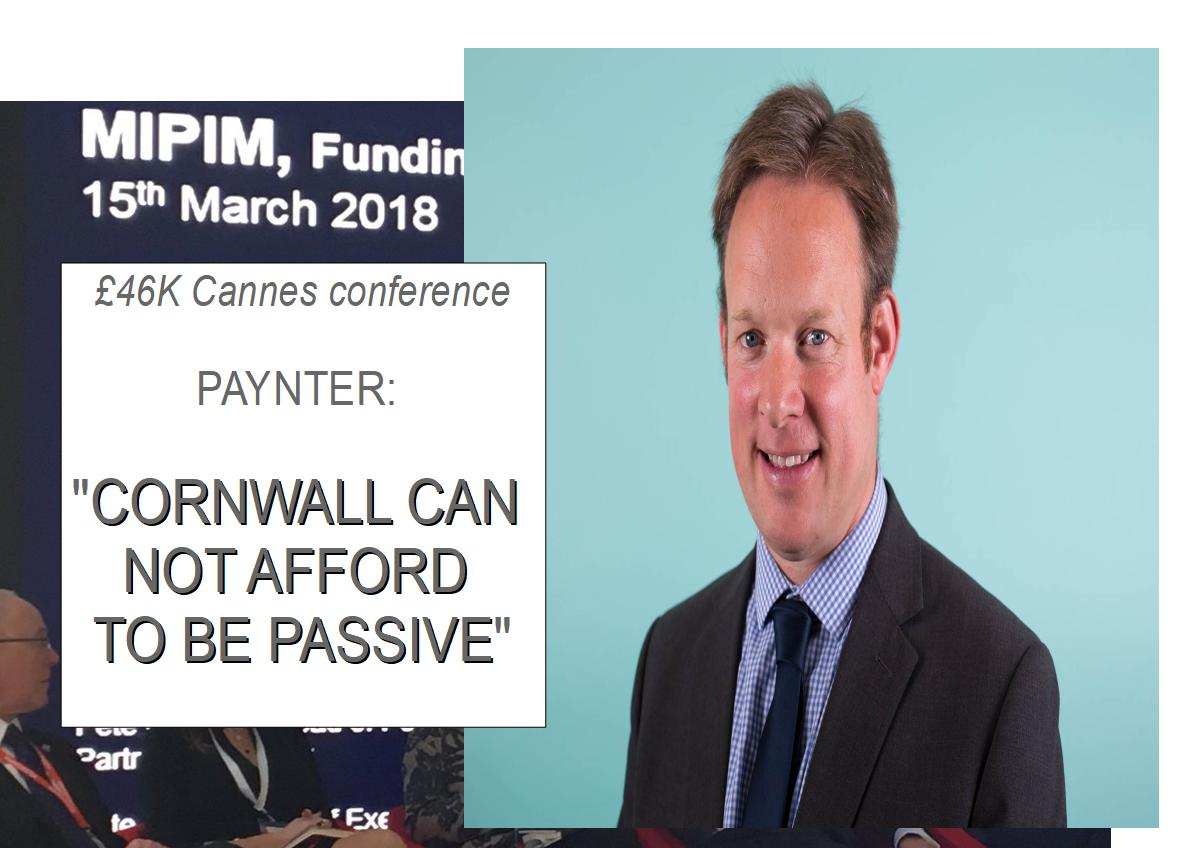 """Adam Paynter: """"If we are serious about the future of Cornwall, we can not afford to sit back and be passive"""""""