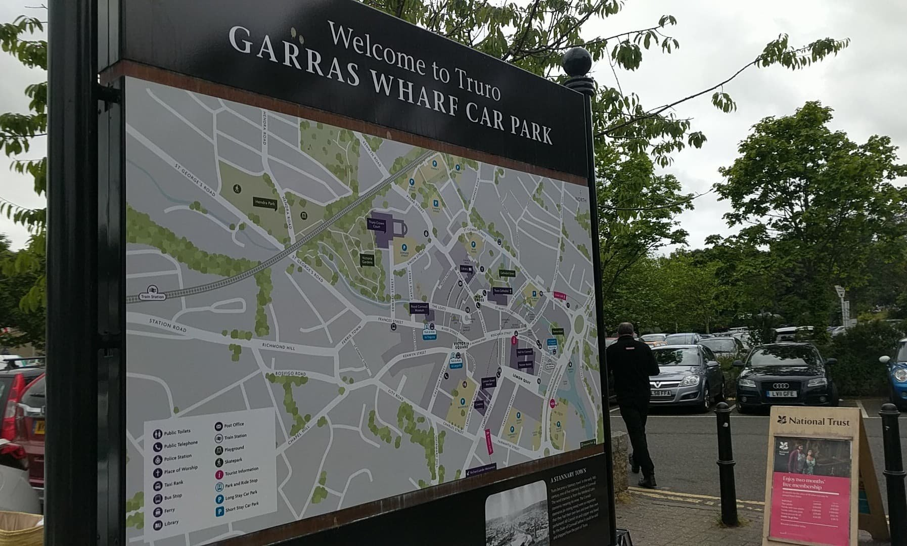 Funds received from parking parks will be used to build garages 70