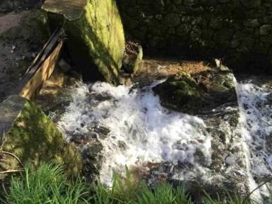 Waterfalls. Well, tumbles.