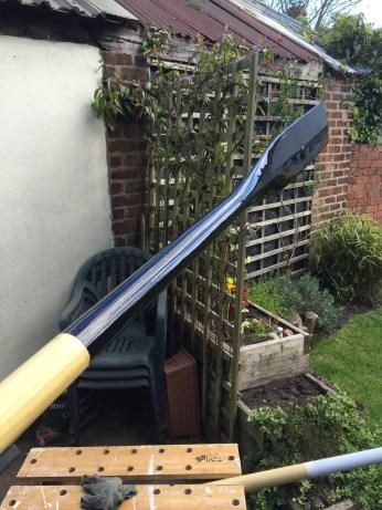 Black gloss blade