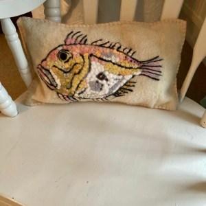 Handmade by Julie Cushion - John Dory
