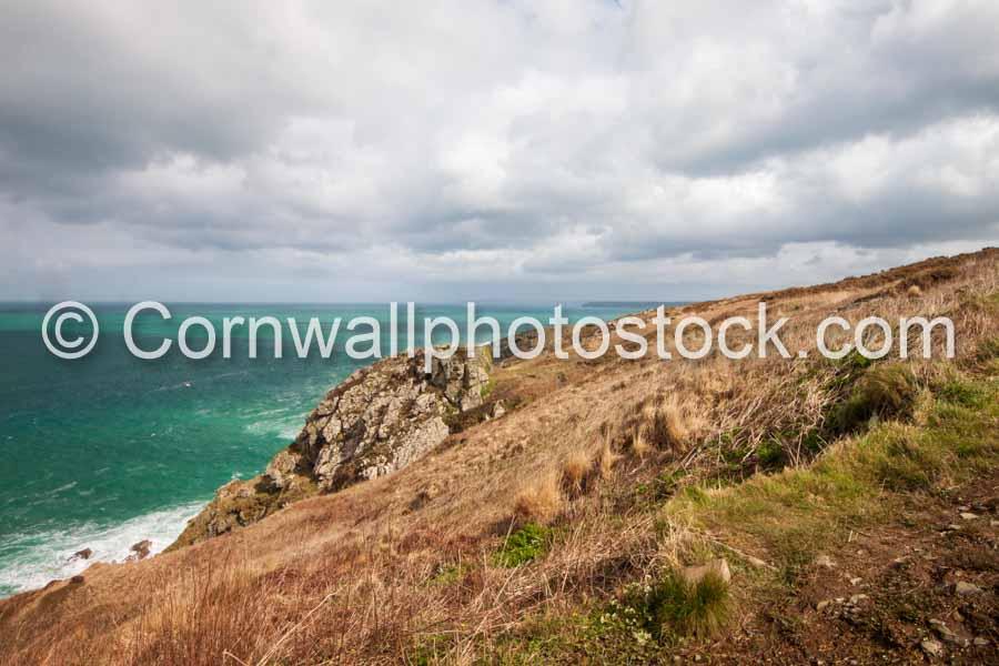Rocky Outcrop With Sea Coastline