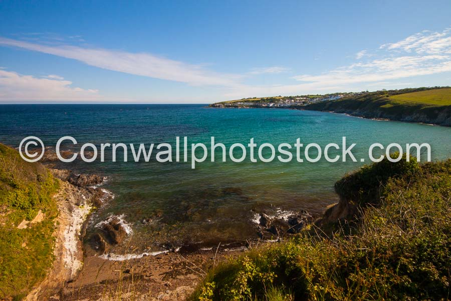 Portscatho From Porthcurnick Beach