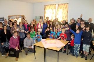 A warm welcome at Cornwell Community Church