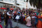 Los Me' Colao en Carnaval 2015. Foto Luis Soriano
