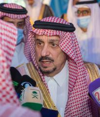 """الأمير فيصل بن بندر: هذه أسباب احتلال الرياض المرتبة الأولى في المناطق الأعلى إصابة بـ""""كورونا"""""""