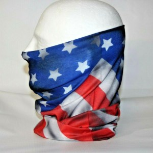 Coronabestdefense - US Flag Neck Gaiter