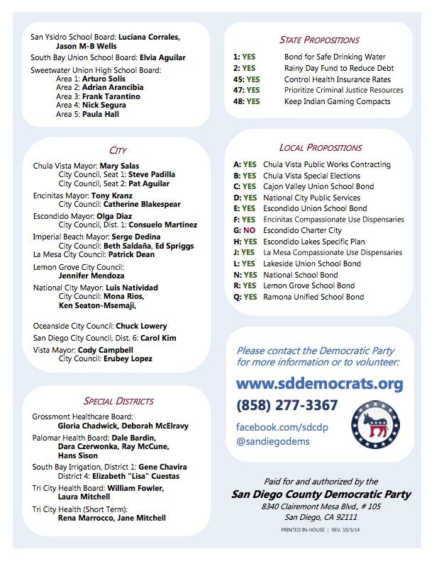 Democratic endorsed candidates_2014B
