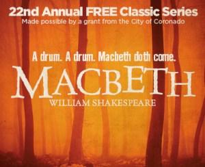 MACBETH @ Coronado Playhouse | Coronado | California | United States