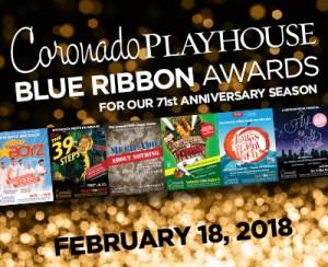 2017 BLUE RIBBON AWARDS @ Coronado Playhouse   Coronado   California   United States
