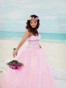 mis quince en la playa