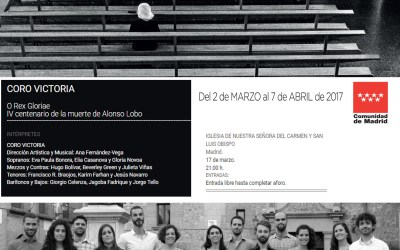 Concierto «O Rex Glorie». Conmemoración IV Centenario muerte de Alonso Lobo