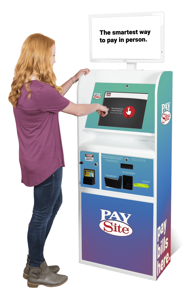 Indoor Bill Pay Kiosk