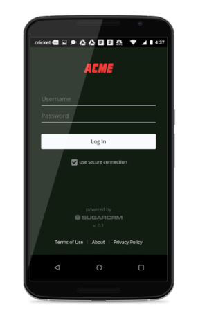 Customized App