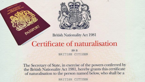 Image result for Citizenship by naturalisation.