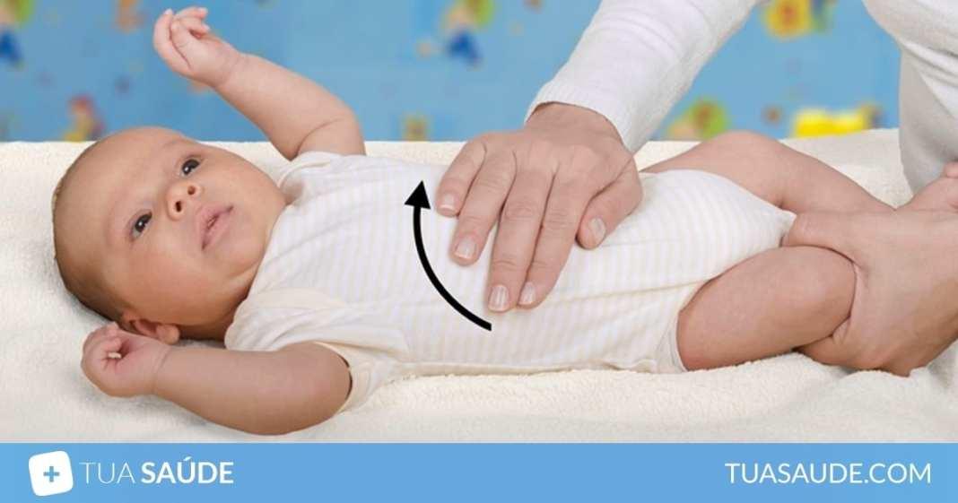 9 formas de aliviar as cólicas no bebê