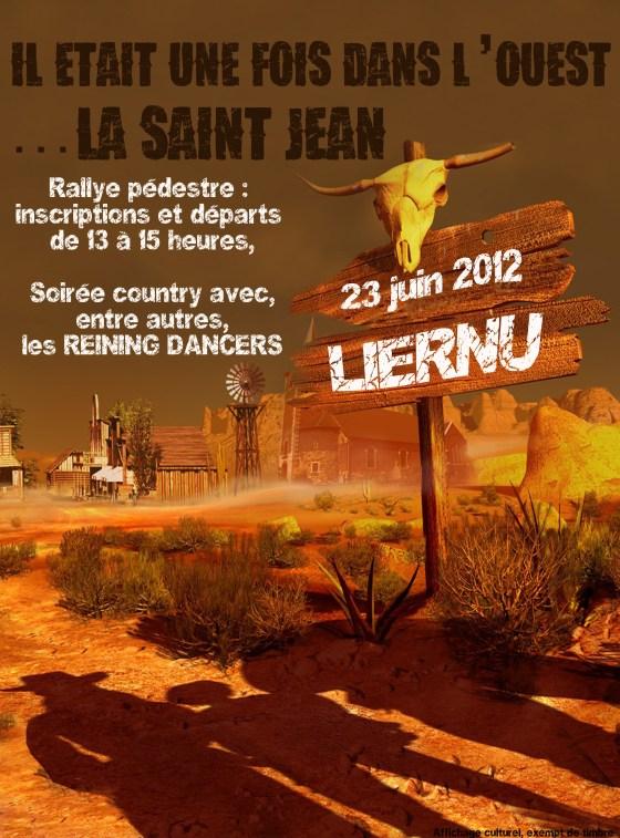 Affiche St Jean 2012