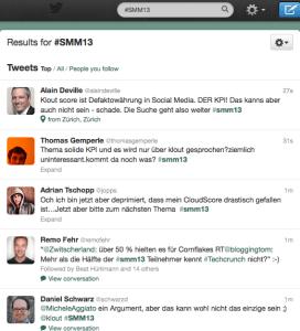 screenshot vom stream #smm13