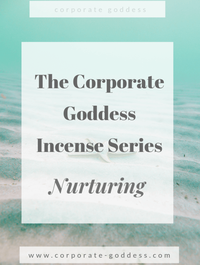 The Corporate Goddess Incense Series - Incense For Nurturing
