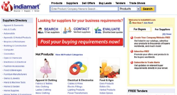 Indiamart Screen Shot