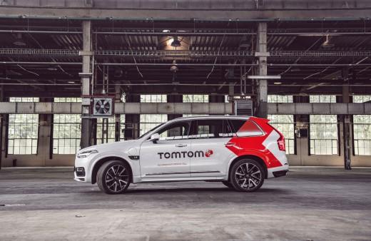 TomTom Launches Autonomous Test Vehicle