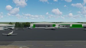New Hangars Coming To Skagit Regional Airport​ View from South