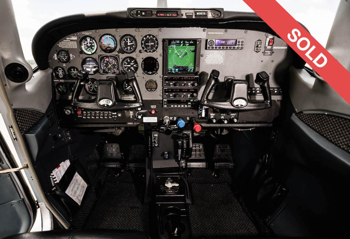135TS Cockpit SOLD