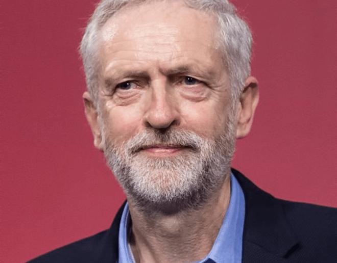 Corporate Christ - Jeremy Corbyn