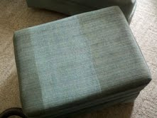 Upholstery Cleaning Before & After in Grand Rapids