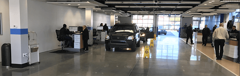 Car Dealership Showroom Cleaning