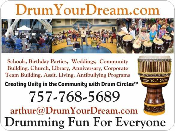 Drum Your Dream with me.