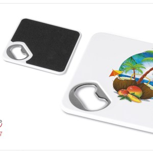Good Times Coaster & Bottle Opener