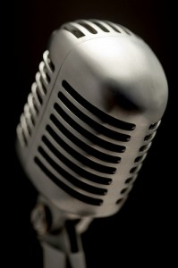 picture of a Shure microphone by the other Martin Taylor