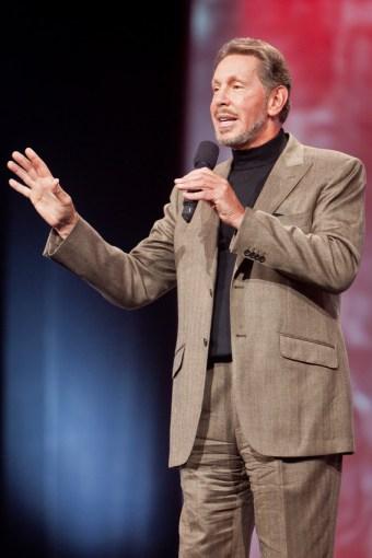 Larry Ellison at Oracle Open World
