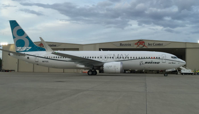 Boeing 737 MAX en Sarasota