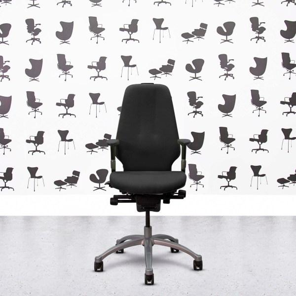 Refurbished ICF Charles Eames - Black Leather - Corporate Spec