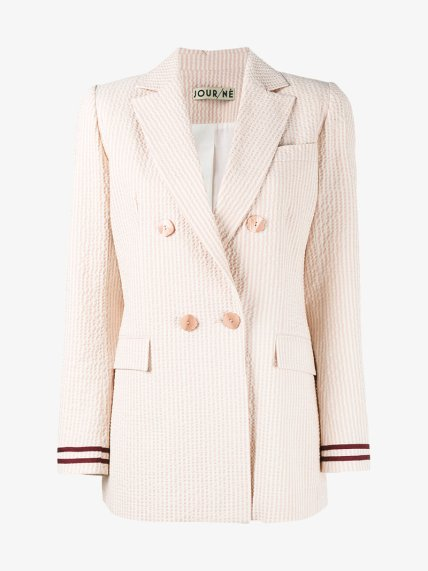 How-to-wear-a-double-breasted-blazer-corporate-style-story-Seersucker-Double-Breasted-Blazer-pink