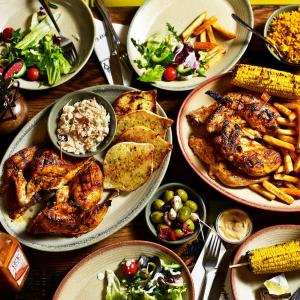 Nando's menu - the healthy choice