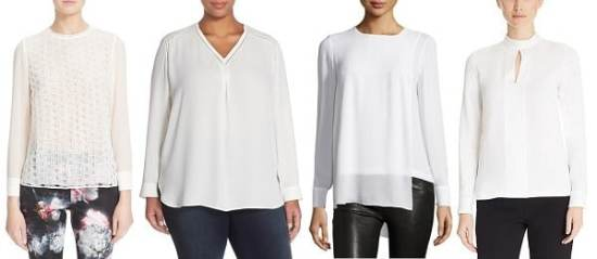 non-blousy blouses for work