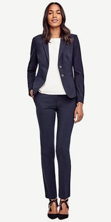 Budget-Friendly Interview Suits for Women: Ann Taylor