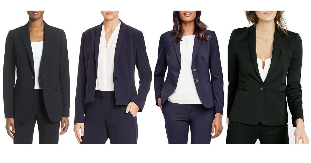 budget friendly interview suits for women - FB-sized image