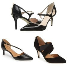 Sleek Strappy Pumps for the Office