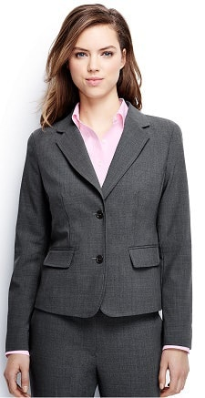washable wool suiting for women