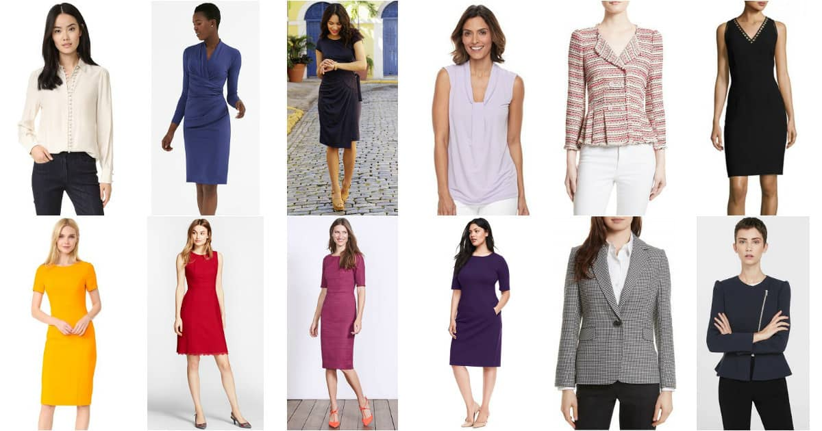what to wear to work in 2017 - favorite work outfit recommendations