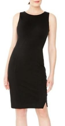 Classic Sheath Dresses for Work: Sheath dress with secret shaping properties!