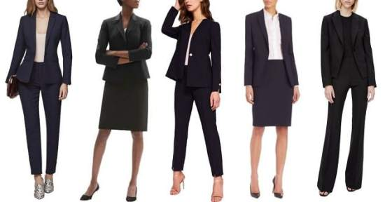 best women's suits of 2018: investment suits for corporate women -- great for courtroom attire as well as a stylish interview outfit
