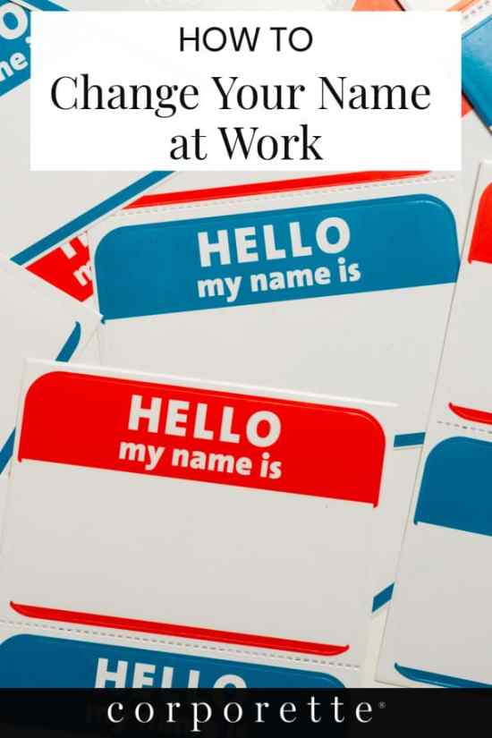Wondering how to change your name at work? We've thought about all the logistical things to consider when you get married, divorced, or otherwise change your name!