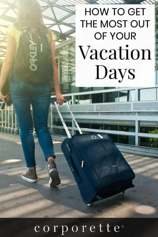 How many vacation days did YOU use this year? If you're wondering what's normal vacation use is for career women -- and want to see how they make the most of their vacation time -- then this is the post for you! Lots of comments from women lawyers, professors and more!