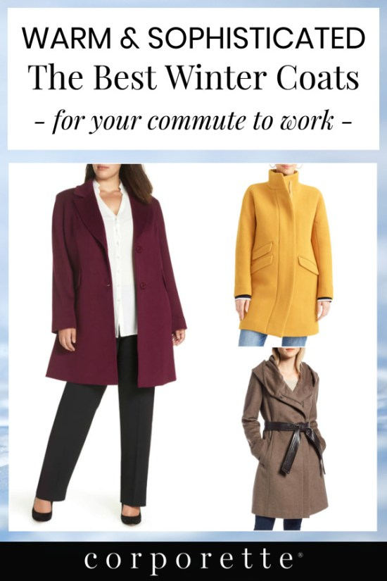 If you're hunting for the best winter coat to wear on your commute, boy have we got you covered: we did a big roundup of the best winter coats to wear to work in 2019 -- and TONS are on sale right now, including cashmere coats, alpaca coats, wool coats, stadium coats, wrap coats, blazer coats, and more!